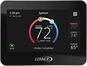 """Lennox 15Z69 iComfort M30 Universal Smart Programmable Thermostat, 4.3"""" LCD Color Display, Geo-Fencing, Remote Access, Wi-..."""