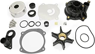 Full Power Plus Water Pump Repair Kit Replacement with Housing for Johnson Evinrude V4 V6 V8 85-300HP Outboard Motor Parts 5001594