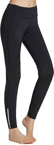 XGC Damen Lange Radhose Hose Fahrradhose Hose Strumpfhose Legging mit hoher Dichte Hochelastizit/ät und hoch atmungsaktiv 4D Schwamm gepolstert