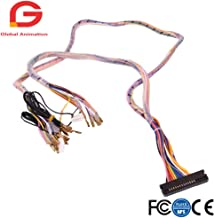 Arcade Interface Cabinet Wire Wiring Harness PCB Cable for Arcade Game Consoles Pandora Box