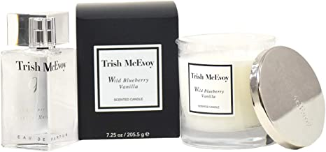 Trish McEvoy The Power of Fragrance Iconic Perfume and Candle Collection Set - No. 9 Blackberry & Vanilla Musk Eau de Parf...