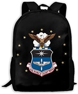 United States Air Force Academy Logo 3D Printing Adult Daily Bag Leisure Hiking Bag Unisex Backpack