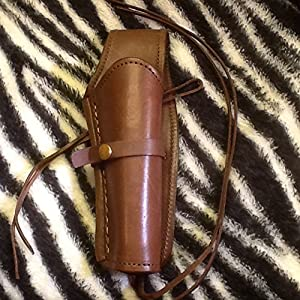 Amazon com : C O W S  Cowboy Burgundy Leather Drop Holster