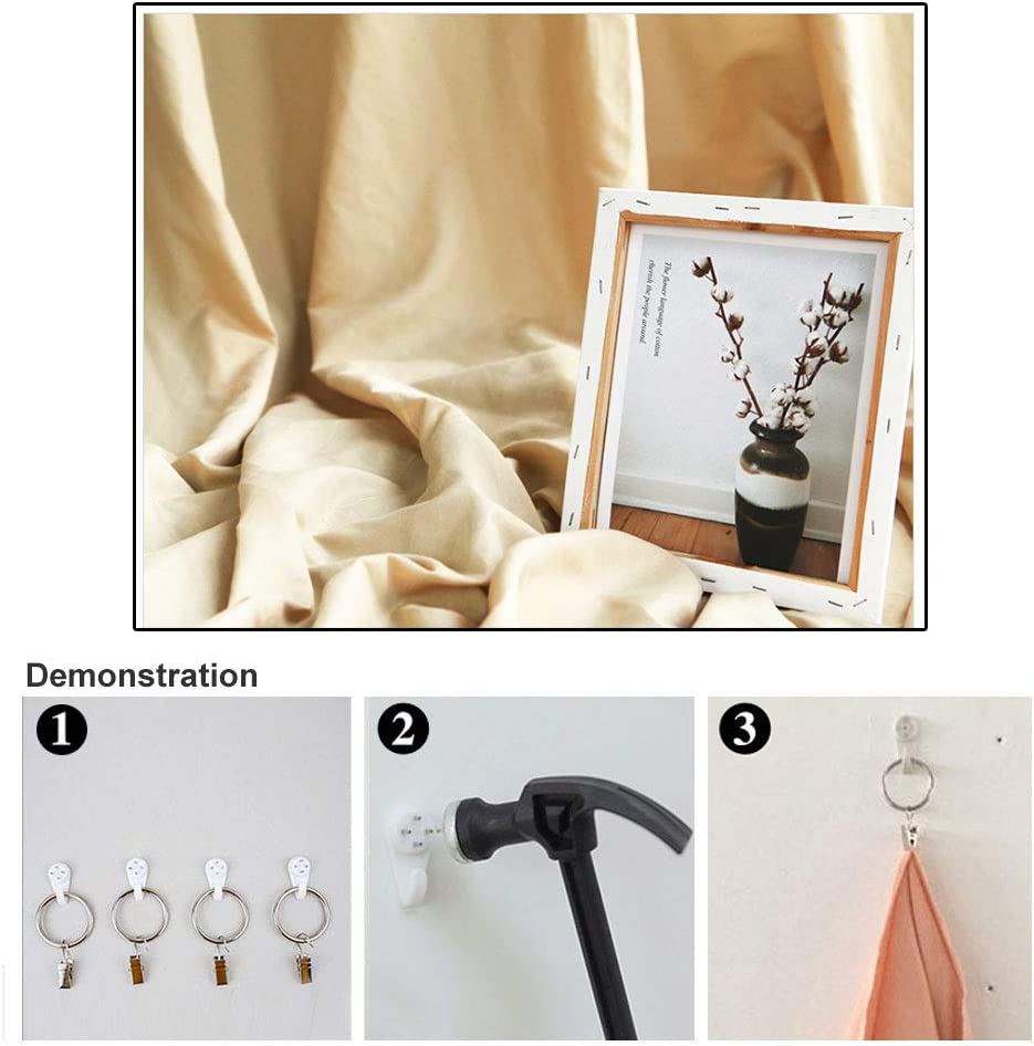 Brostown Professional Solid Color Video Studio Photo Background Cloth 1M 2M 3M 4M for Option Photography Backdrop Curtain