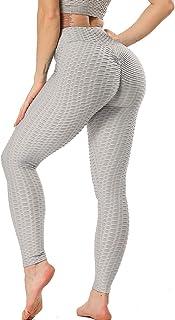 SEASUM High Waist Gym Leggings Women Slim Fit Scrunch Butt Lift Wrokout Yoga Pants Plus Size