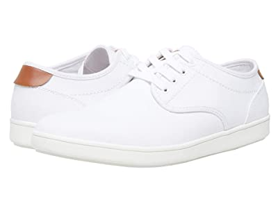 Steve Madden Fenta (White Canvas) Men
