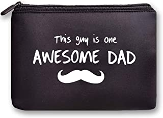 Fun Dad Gifts,Dad Birthday Gifts,Dad Gifts from Daughter Son-This Guy is One Awesome Dad- Storage bag,Waterproof, for iPho...