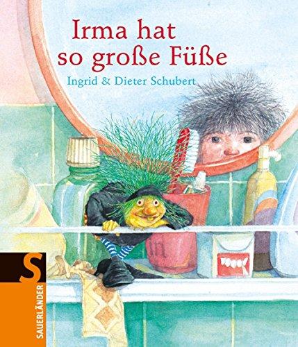 Irma hat so große Füße: Mini-Bilderbuch von Ingrid Schubert (1. Januar 1990) Gebundene Ausgabe