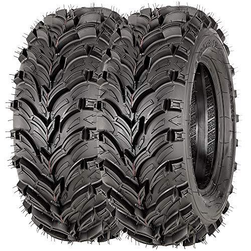 VANACC Set of 2 24x8-12 ATV Tires 24x8x12 24-8-12 6 Ply Tubeless