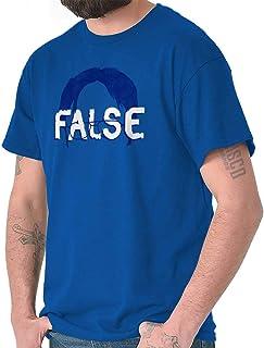 Brisco Brands False Funny Comedy TV Show Character Nerdy T Shirt Tee