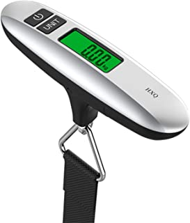 HXQ Luggage Scale, Digital Portable Handheld Suitcase Weight for Travel with Rubber Handle