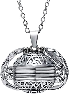 angel ball necklace