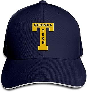 College Ga Georgia Tech Yellow Jackets Logo Flex Baseball Cap Black