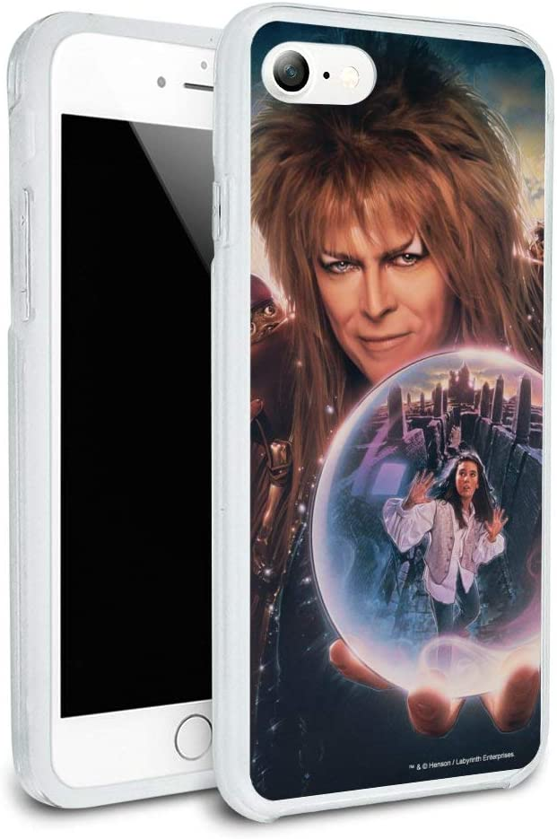 Labyrinth Crystal Ball Goblin King Jareth David Bowie Protective Slim Fit Hybrid Rubber Bumper Case for Apple iPhone 7 and 7 Plus