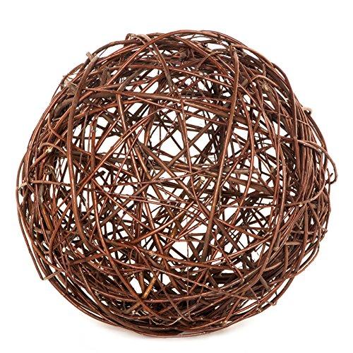 BooGardi Weidenkugel · Viele Größen · 30 cm - Deko-Kugel oder Gartenkugel aus geflochtener Weide als Verschönerung und Blickfang für Garten, Balkon und Terrasse