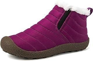 Axcer Bottines de Neige Hommes Femmes Doux et Confortable Doublure Chaude des Chaussures d'hiver Antidérapant Outdoor Muti...