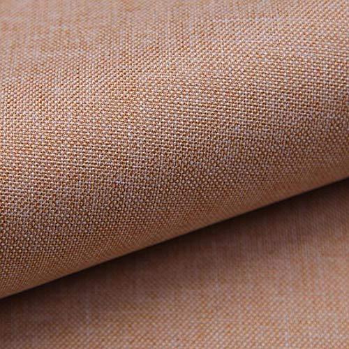 Teker Torino Polsterstoff Möbelstoff Meterware - z.B. Stoff für Stühle oder Eckbank Bezug (24 Pfirsich)