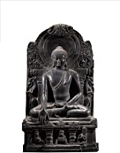 Home Accessories Buddha Sculpture, Sakyamuni Statue Gandhara Buddhist Artwork Antique Replica