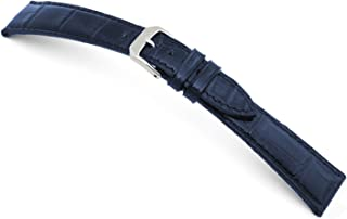 RIOS1931 Lausanne - Genuine Glossy Alligator Watch Band for Patek Philippe Watches 114x82