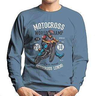 Motocross World Champ Men's Sweatshirt