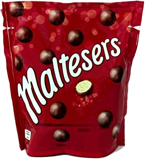 MALTESERS bolitas de chocolate rellenas de leche malteada bolsa 175 gr