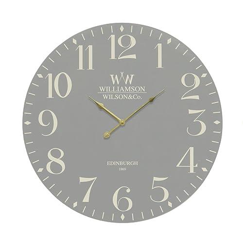 Large Rustic Retro Kitchen Wall Clock 34cm Cockerel 76311