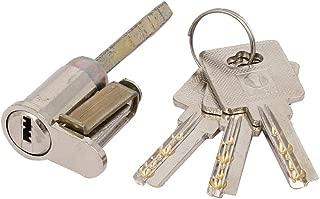X-Dr Cabinet Door Drawer Metal Keyed Entrance Tubular Plunger Lock 73mm Height w Keys (5d84ad7d-a222-11e9-8d7c-4cedfbbbda4e)