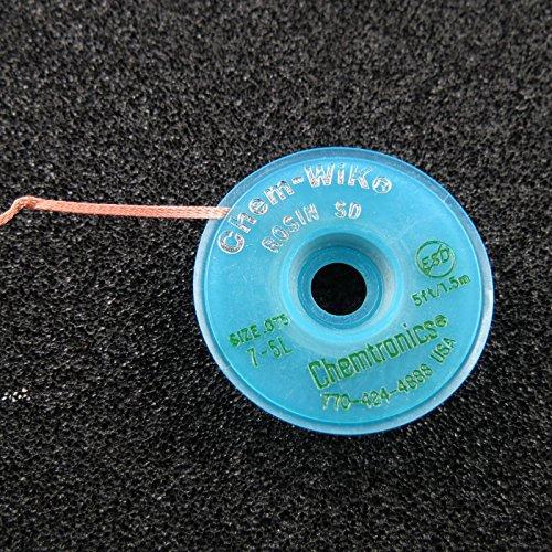 Onbekend soldeerpunt: 0,76 mm breed, 1,5 m lang, met kolophonium solderen, soldeerbout, roze.