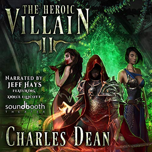 The Heroic Villain 2 audiobook cover art