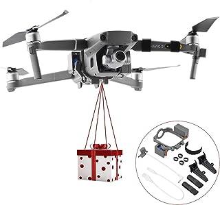 Afittel0 Dispositivo de liberación y caída para dji Mavic 2 Pro y dji Mavic 2 Zoom Drone, Drone Clip Payload Delivery Dispositivo de Transporte Drone de Boda Cebo de Pesca Búsqueda y Rescate