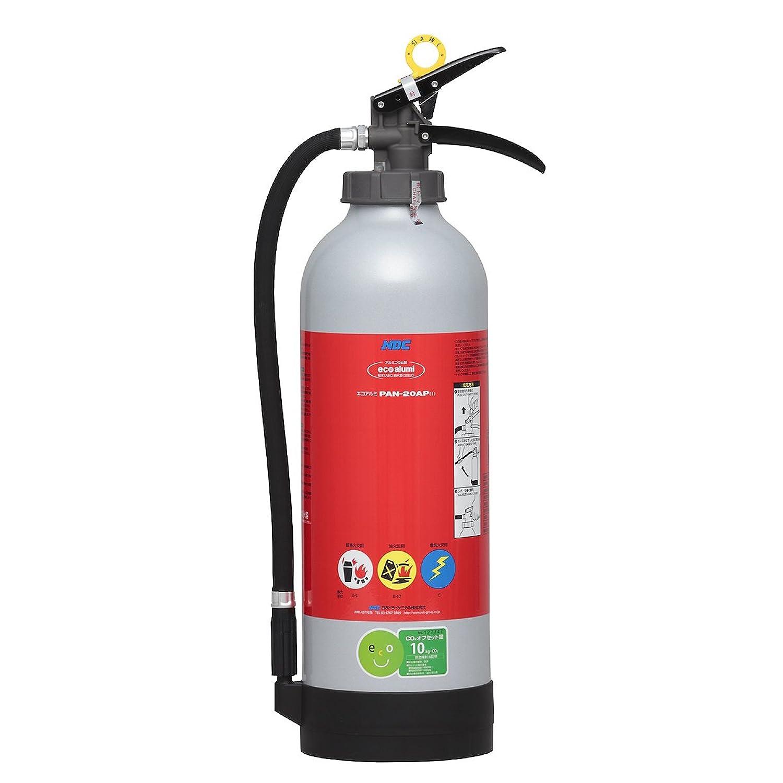 日本ドライ PAN-20AP(I) ABC粉末消火器 20型 加圧式(アルミ式)※リサイクルシール付
