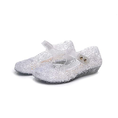 478bfce4095b Vokamara Princess Girls Sandals Jelly Mary Jane Dance Party Cosplay Shoes  for Kids Toddler