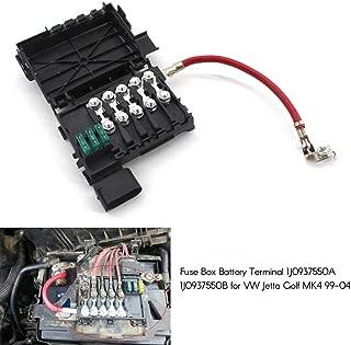 KKmoon Fuse Box Battery Terminal 1J0937550A 1J0937550B for VW Jetta Golf MK4 99-04