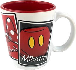 Disney Icons Mickey Mouse, Minnie, Goofy and Donald Duck Ceramic Coffee Mug - 11 Ounce