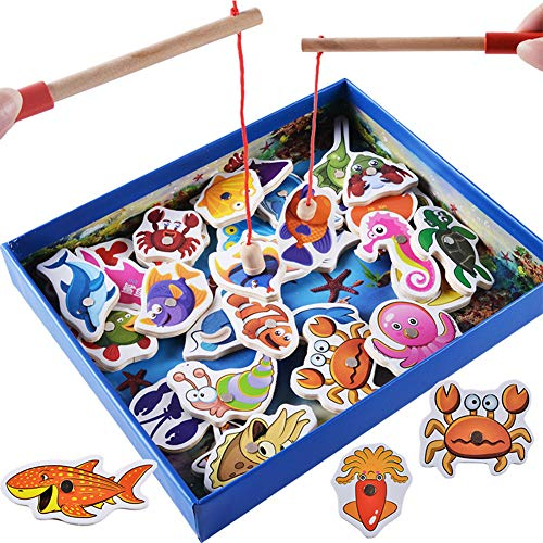 Daxoon - Magnetische Spielzeuge in Bunt, Größe 26.5*21.5*4cm