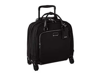 Tumi Larkin Santos Compact Carry-On (Black/Silver) Luggage