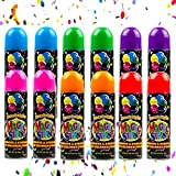 Toysery 12 Pack of Party Silly String for Children's, Perfect Summer Fun Activities for Kids, Party Spray String Supply for Celebrations, (3 Oz) Party Favor Crazy String for Birthdays, Carnivals