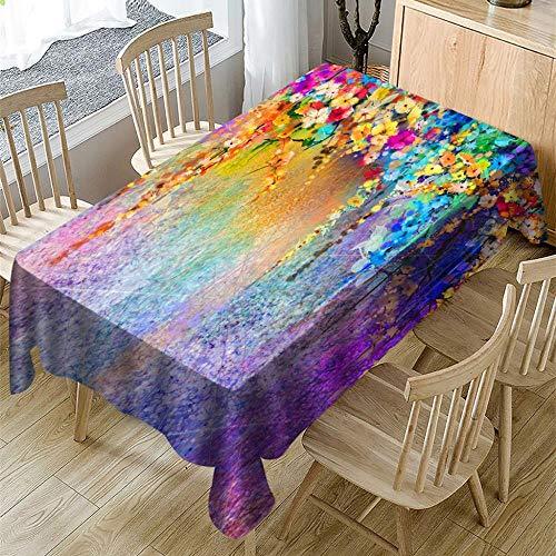 Viner tafelkleed voor tafel Digitaal afdrukken Tafelkleed Rechthoekig Theetafel Woondecoratie Nappe Tafel Rectangulaire, 150x300 cm