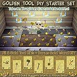 Golden Tools DIY Starter Set | All 6 Golden Tools & DIYs | 7.5 Million Bells in Gold Nuggets | Bonus Golden Wand & DIY | Animal Crossing ACNH New Horizons