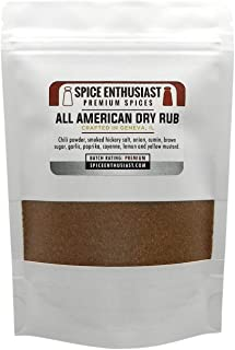 Spice Enthusiast All American Dry Rub - 4 oz