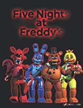 Five Nights at Freddy's Coloring Book: +50 coloring pages for kids and Adults ,+50 Amazing Drawings FNAF : All Characters