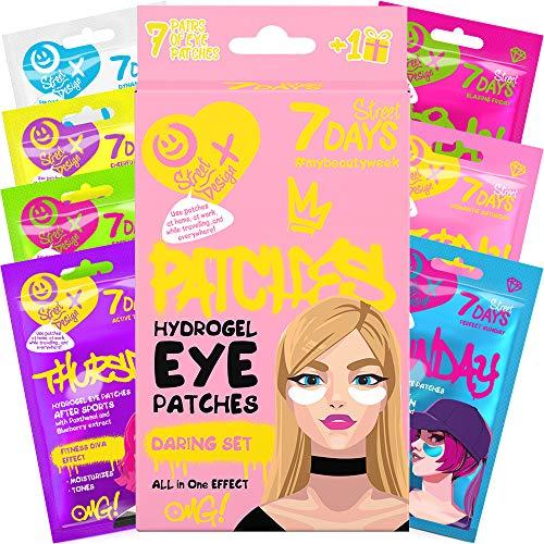 Set de Regalo Productos para el Cuidado de la Piel Eye Parches para los Ojos Giftset Calcetines Navideños Regalos de Invierno 8 Uds | 7DAYS