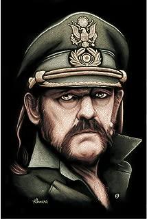 Killed by Death Marco Almera Lemmy Kilmister Musician Motorhead Poster Art Print