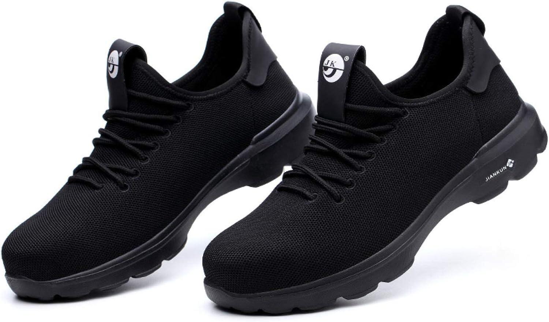 BG7 Arbeitsschutz-Schuhe der der Modetrend-Arbeitsversicherung durchbohren verletzende Schutzschuhe der Arbeit im Freien 1   Schwarz   42  bis zu 50% sparen