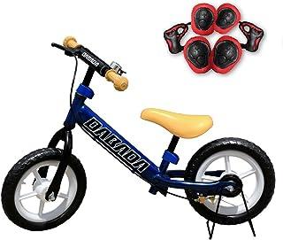 DABADA(ダバダ) ランバイク ペダルなし自転車 子供用 スタンド付き 軽減ブレーキ付き バランス 2歳~5歳 (blue)