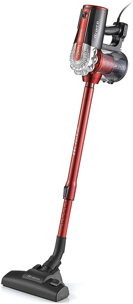 Ariete scopa elettrica con filo 2 in 1 aspirapolvere e aspira briciole, filtro hepa 2761