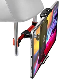 """Headrest Tablet Mount, SRMATE Car Headrest Tablet Holder Stand Cradle for 4.7-12.9"""" Devices iPad Pro Air Mini, Galaxy Tabs..."""