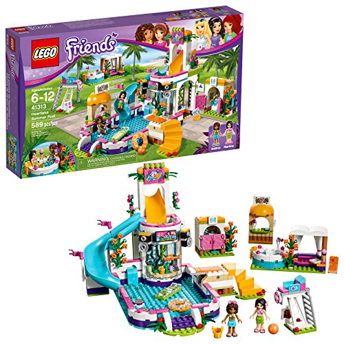 Piscina de verano LEGO Friends Heartlake 41313 ...