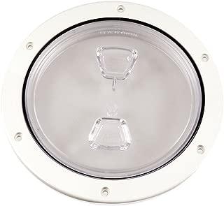 Beckson 6-Inch Deck Plate (Clear)