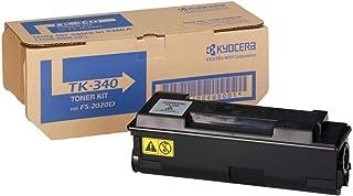 Kyocera TK-340K Toner Black, Original Premium Cartdrige 1T02J00EU0. Compatible ECOSYS FS-2020D, FS-2020DN